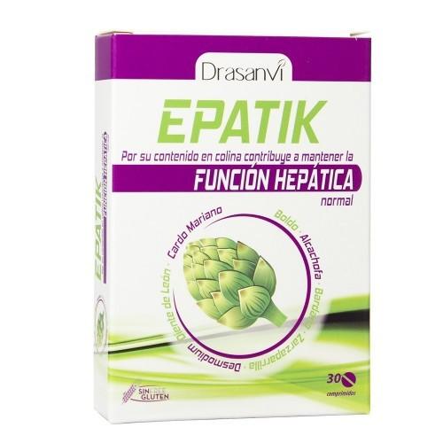 epatik detox drasanvi 30 comprimidos