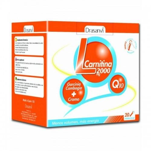 l carnitina 2000 mg drasanvi 20 viales