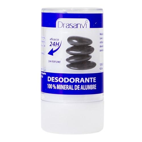 desodorante alumbre mineral cristal drasanvi