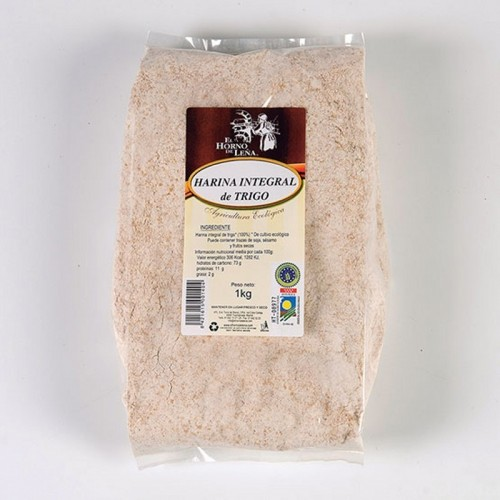 harina trigo integral horno de leña 1 kg bio