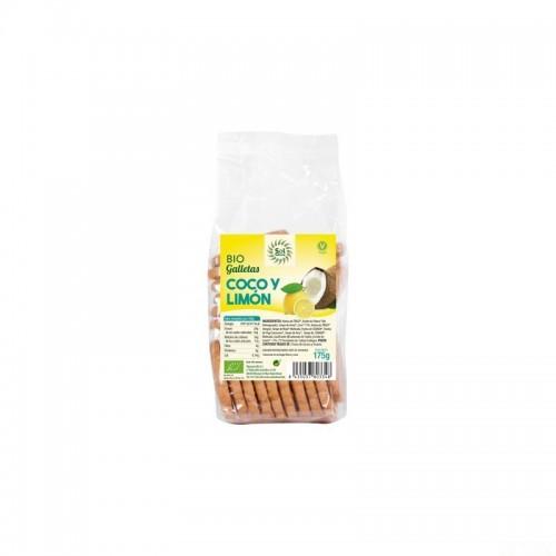 galletas coco limon sol natural 175 gr bio