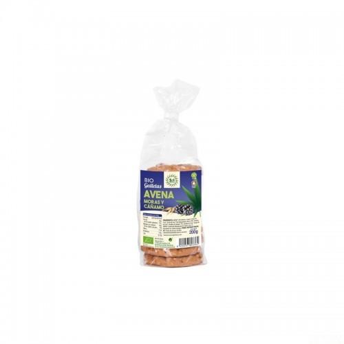 galletas avena mora blanca cañamo sol natural 200 gr