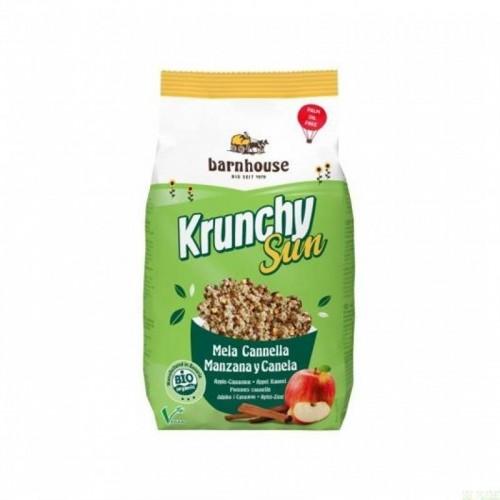 crunchy sun manzana canela barnhouse 375 gr