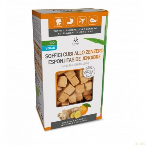ginger jengibre esponjitas lemon pharma 60 gr