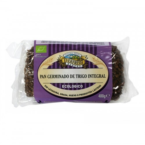 pan germinado trigo integral everfresh 400 gr