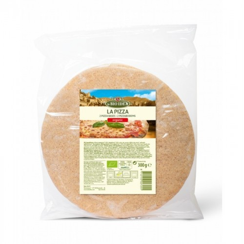 base pizza 2 ud bioidea 300 gr