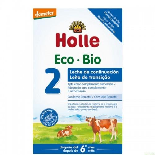 leche continuacion 2 6 meses holle 600 gr demeter eco
