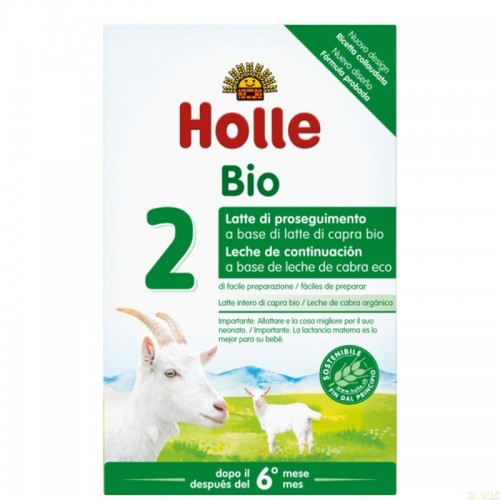 leche continuacion cabra 2 6 meses holle 400 gr eco