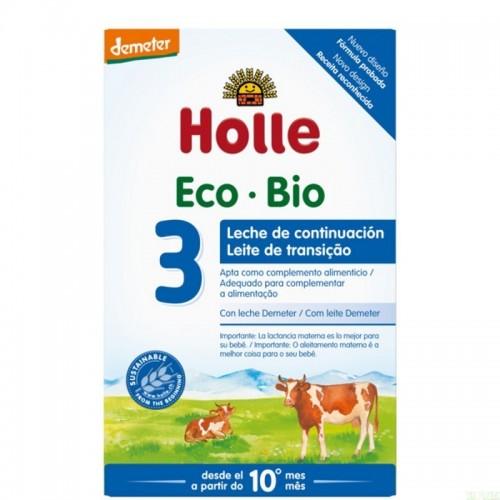 leche continuación 3 10 meses holle 600 gr demeter eco
