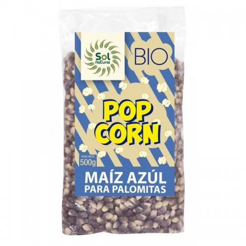 maiz palomitas azul sol natural 500 gr bio