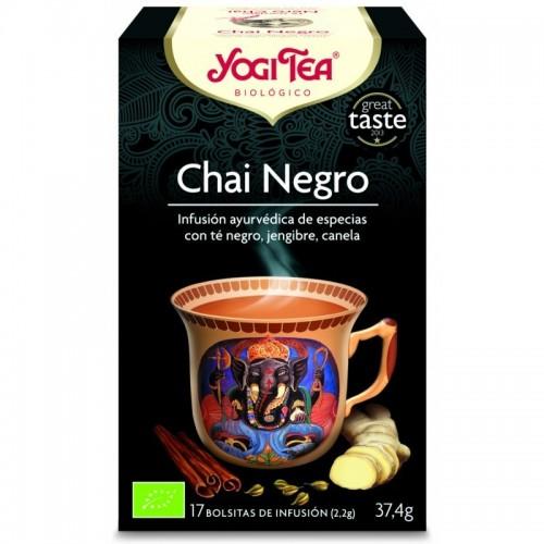 yogi tea infusion chai negro 17 bolsas bio