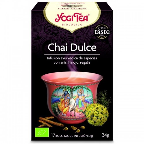 yogi tea infusion chai dulce 17 bolsas bio
