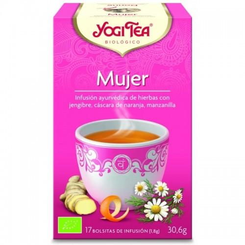 yogi tea infusion para la mujer 17 bolsas bio