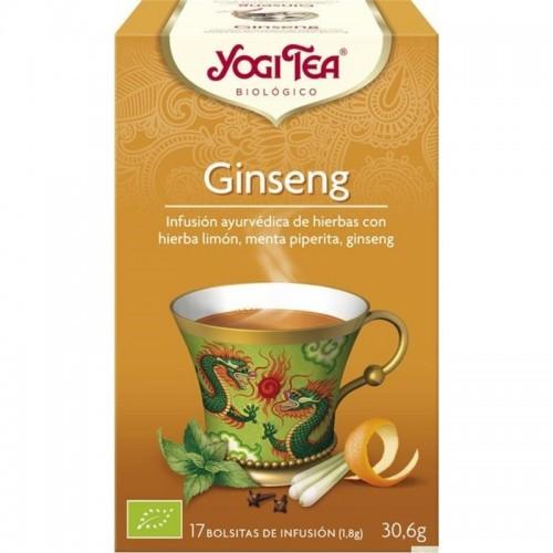 yogi tea infusion ginseng 17 b x 2 gr bio