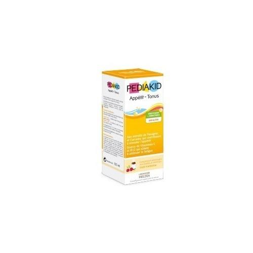 jarabe infantil frambuesa para apetito pediakid 125 ml