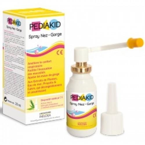 spray nariz garganta pediakid 20 ml