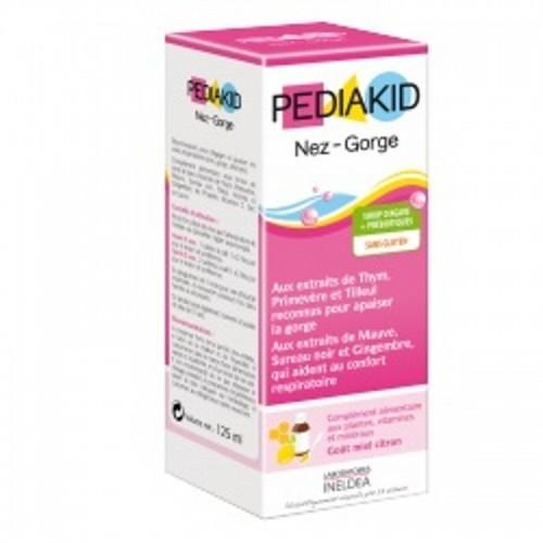 jarabe infantil resfriados limon pediakid 125 ml