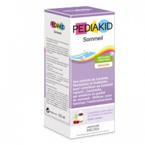 jarabe infantil sueños cereza pediakid 125 ml