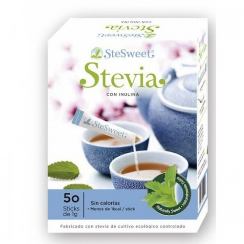 stevia sticks e inulina stesweet 50 sticks bio