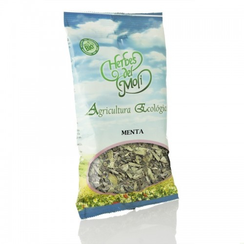 bolsa menta piperita hoja herbes del moli 25 gr eco