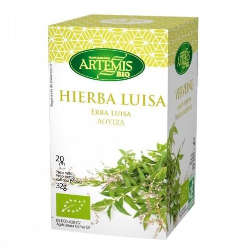 infusion hierba luisa 20 filtros artemis 30 gr