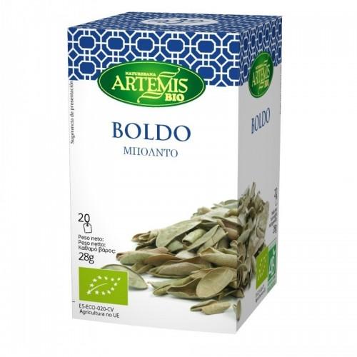 infusion boldo 20 filtros artemis 30 gr