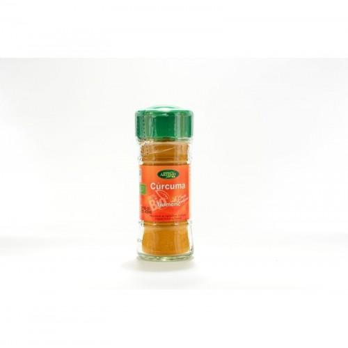 curcuma especias artemis 30 gr bio