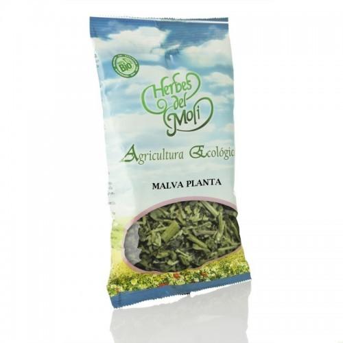 bolsa malva planta herbes del moli 30 gr eco