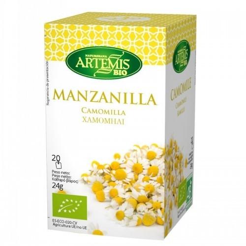 infusion manzanilla 20 filtros artemis 30 gr