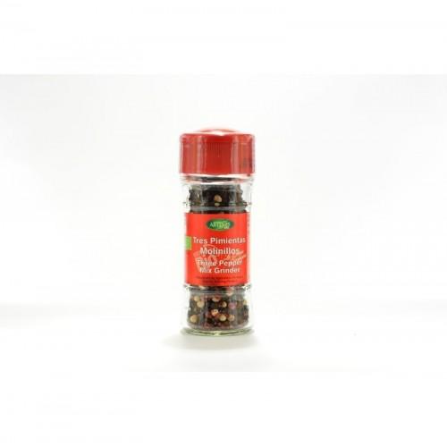 mezcla tres pimientas especias artemis 35 gr