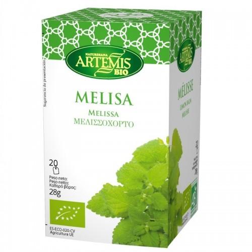 infusion melisa 20 filtros artemis 30 gr