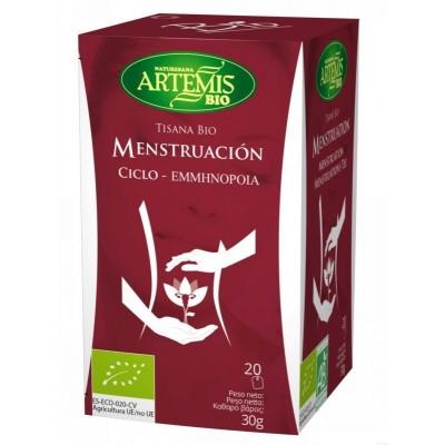 tisana mujer menstruacion 20 filtros artemis bio