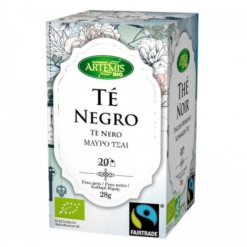 infusion te negro english breakfast 20 filtros artemis 30 gr