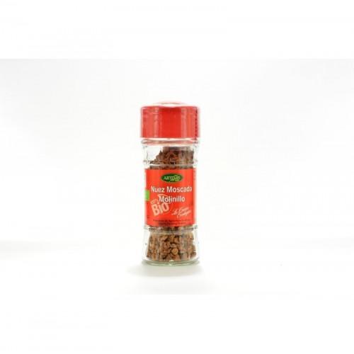 nuez moscada molinillo especias artemis 35 gr bio