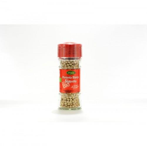 pimienta blanca molinillo especias artemis 45 gr bio