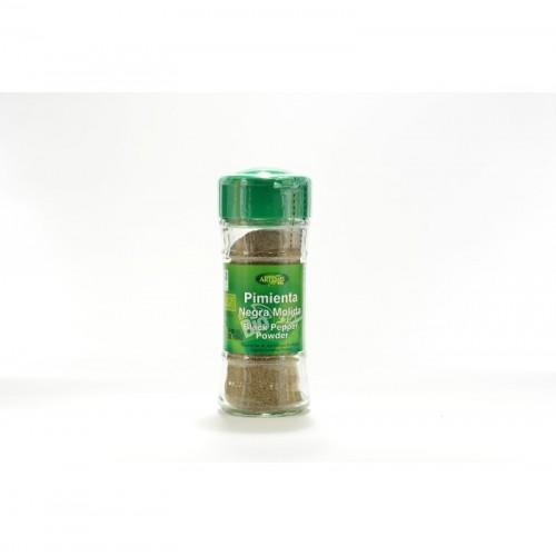 pimienta negra molida especias artemis 38 gr bio