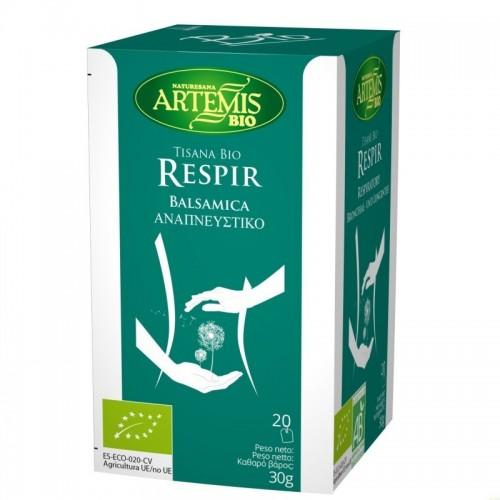 tisana respir t 20 filtros artemis bio