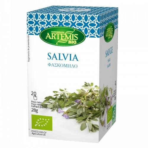infusion salvia 20 filtros artemis 30 gr