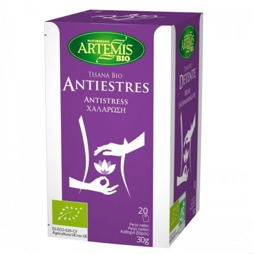 tisana antiestres t 20 filtros relax artemis bio