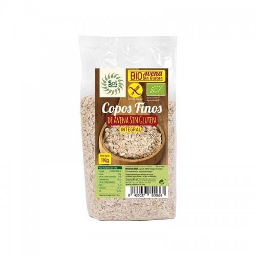 copos avena gruesos sin gluten sol natural 1 kg bio