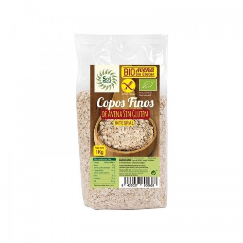 copos avena finos sin gluten sol natural 1 kg bio