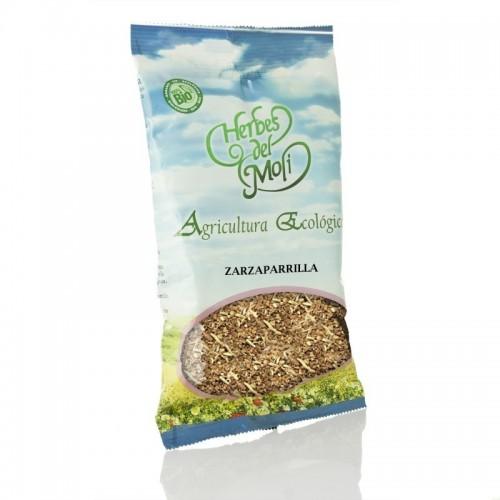 bolsa zarzaparrilla raiz herbes del moli 75 gr eco