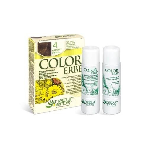 tinte castaño claro nº 4 color erbe