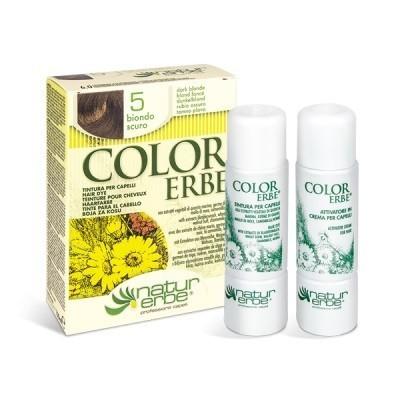 tinte rubio oscuro nº 5 color erbe