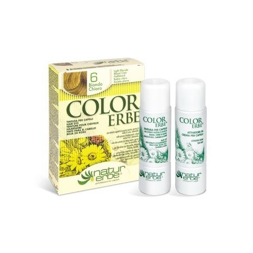 tinte rubio claro nº 6 color erbe