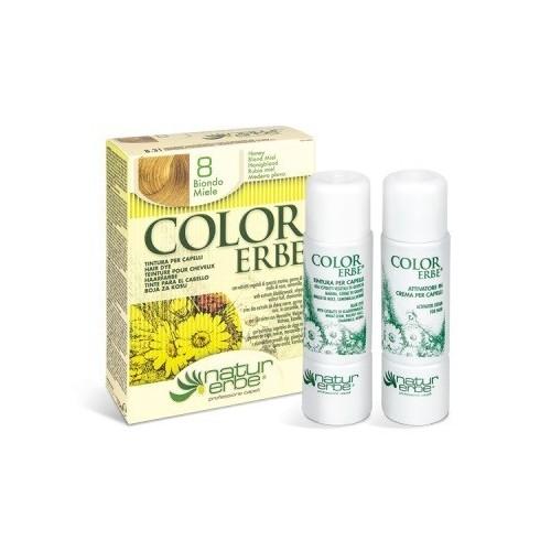 tinte rubio miel nº 8 color erbe