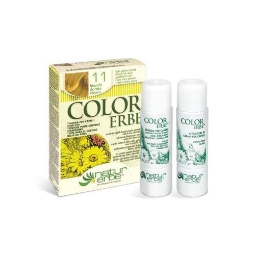 tinte rubio dorado claro nº 11 color erbe