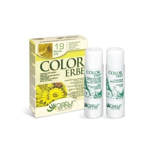 tinte rubio sol nº 19 color erbe
