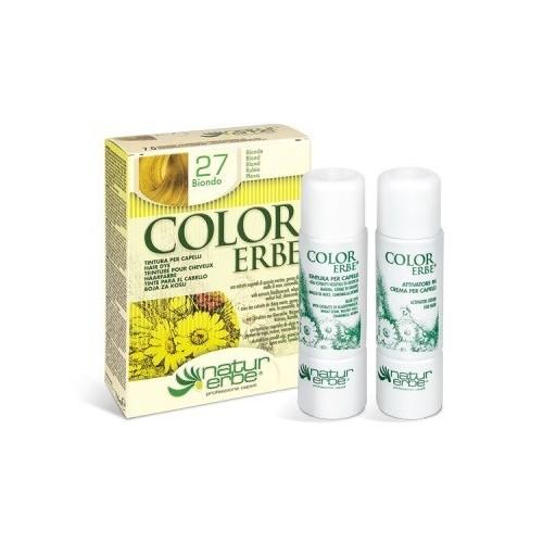 tinte rubio nº 27 color erbe