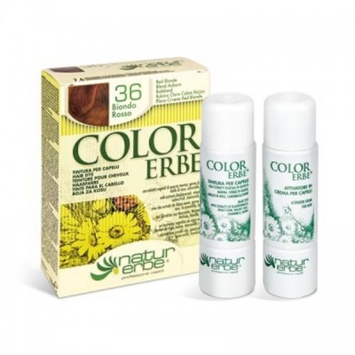 tinte rubio claro cobre rojizo nº 36 color erbe